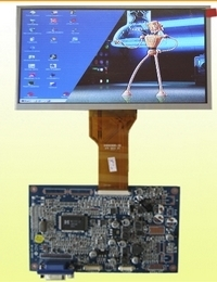 "7"" Video/VGA - open-frame-Monitor"