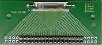 Adapterplatine Nullkraftstecker Raster 0,5mm / Stiftstecker Raster 2,54mm