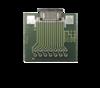Adapterplatine Nullkraftstecker Raster 1,0mm / Lötraster 2,54mm