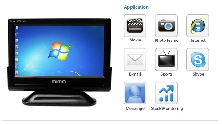 "10,1"" USB-Monitor MIMO MAGIC MONSTER"
