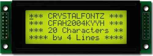 LCD-Modul 20x4 Zeichen, CFAH2004K-YYH-JP