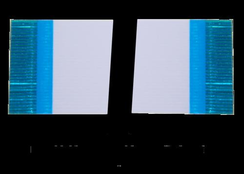 Flexkabel Raster 0,5mm, Typ A, bis 50pol, Länge 102mm