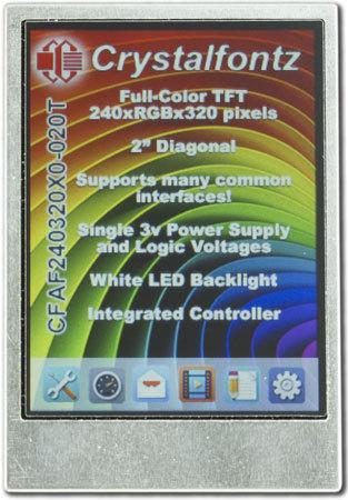"2"" TFT-Farb-Modul, CFAF240320X0-020T"