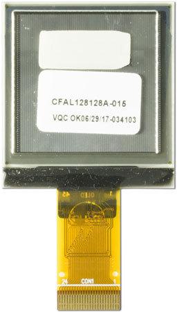 """1,5"""" OLED-Modul, CFAL128128A0-015Y"""
